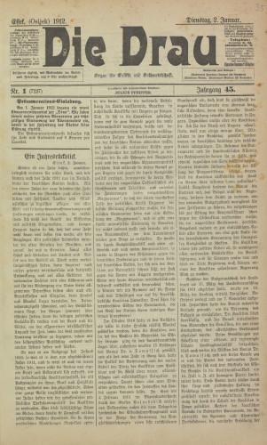 Die Drau, 1912