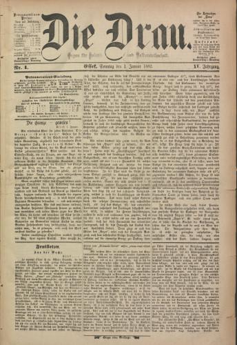 Die Drau, 1882