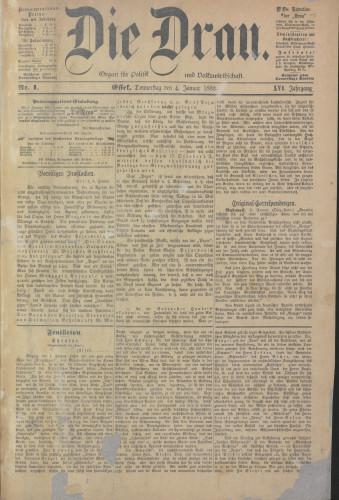 Die Drau, 1883