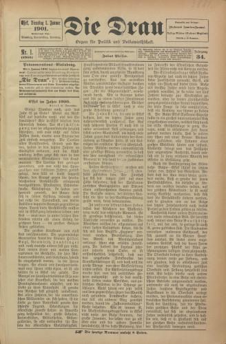 Die Drau, 1901