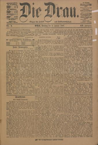 Die Drau, 1886